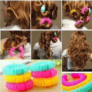 Accessories - 3 pack Magic Hair Curler Spiral Curls Roller